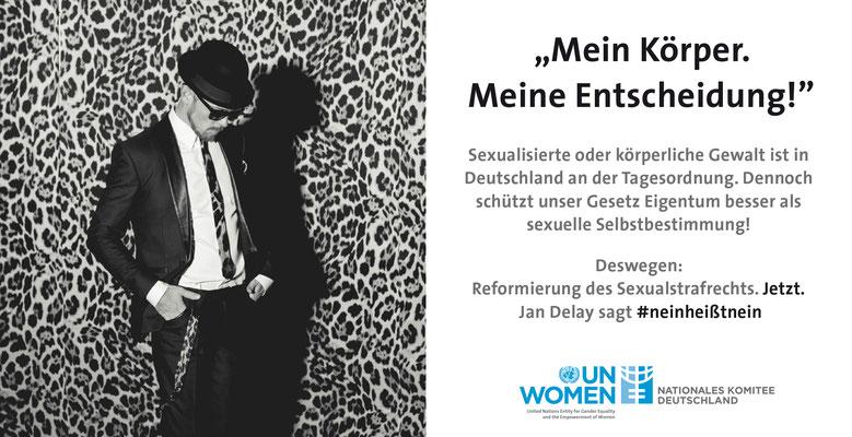 UN Women - #neinheißtnein Kampagne Jan Delay, Startbanner