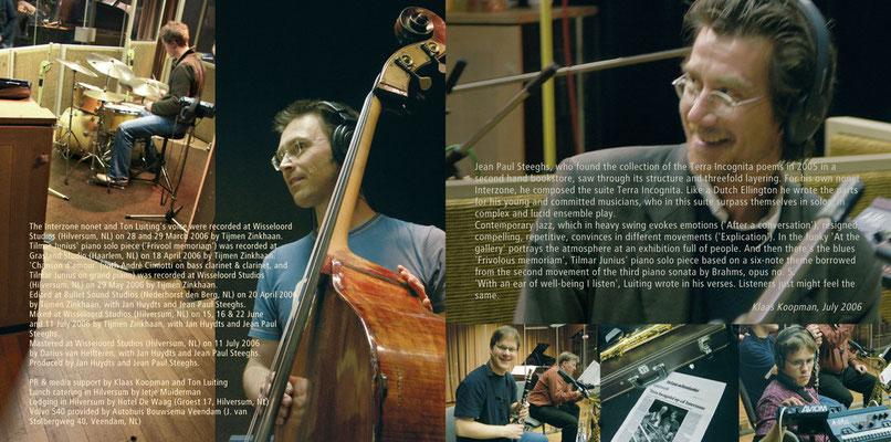 Reportagefotos für CD-Booklet, 'Interzone'