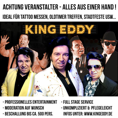 King Eddy Full Stage Service für Messen und Ausstellungen, musiker moderator messen, Entertainment und Moderation für Messe 2019 2020, Messe, sänger, entertainer, entertainment, King Eddy, Oldies, evergreens, Stage Service, Dortmund, Essen, Hannover, Leip