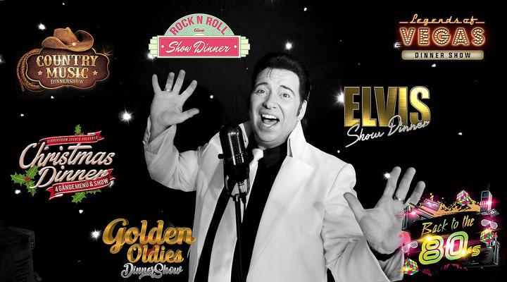 Oldies Liebhaber - Rock´n´Roll Sänger - Elvis Imitator und Tribute Künstler - Evergreens - Buchen Sie die Nr. 1 - Hochzeit - Mottoparty - Firmenfeier - Event aller Art - King Eddy ist Ihre Retro Musik Experte und Profi Sänger mit 40 Jahren Bühnenerfahrung