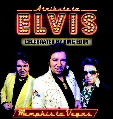 Elvis Presley Double Imitator Tribute Sänger Artist King Eddy Meist gebuchter Künstler