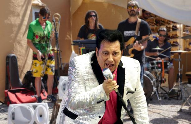 King Eddy rocking and rolling in Ibiza - Oldies, Elvis, Rock n Roll 50s 60 70s Sänger weltweit buchbar - Balearen, Mallorca, Formentera, Menorca, Kanarische Insel Lanzerote, Teneriffa, Fuerteventura, La Palma, Gran Canaria