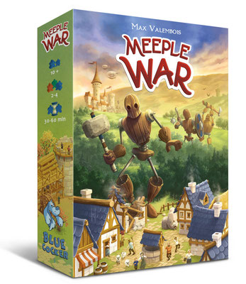 Meeple War [Blue Cocker]
