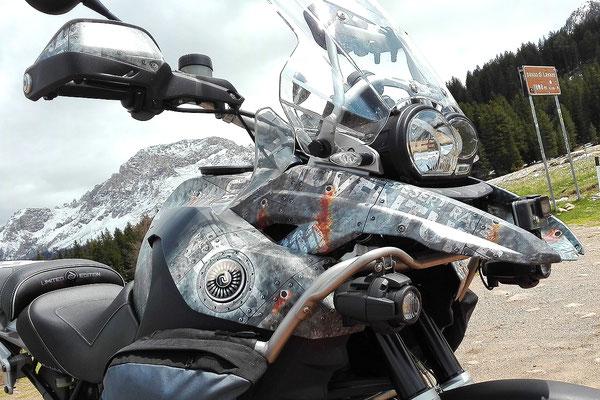 Dekor AVIATOR STONE - Keine Aufkleber aber Carwrap-Folie fuer BMW R1200GS K25 und K50 K51 LC normal und Adventure