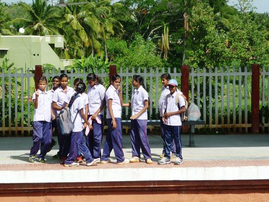 Retour d'école (photo de D. Gardes)
