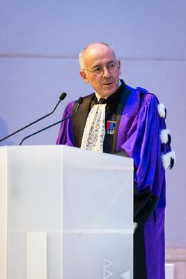 Le professeur Manuel de Tunon de Lara, président de l'Université de BordeauxaccueilleDaniel Klionsky