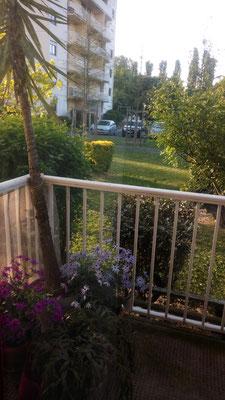 Vue du balcon ( photo P. Guillot)