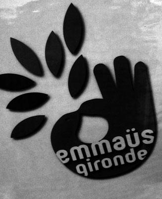 Affiche Emmaüs Gironde