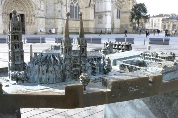 Maquette de la cathédrale de Bordeaux (photo de D. Sherwin-White)