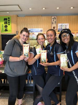 ニュージーランドからのお客様(Ms.Chioe&Ms.Kara&Ms.Pasova&Ms.Trinitiさん)