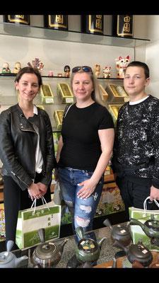 ロシアからのお客様(Ms.Natali,Ms.Elizaveta&Mr.Sergeiさん)