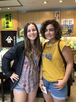 カリフォルニアからのお客様(Ms.Donia&Ms.Honia)