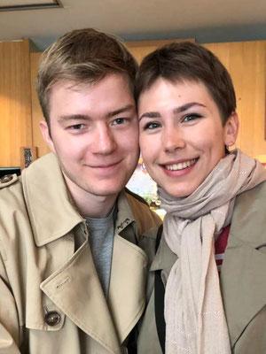 ロシアからのお客様(Mr.Vova&Ms.Vikaさん)