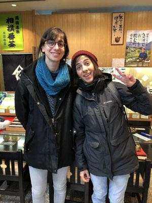 イタリアからのお客様(Ms.Nicoletta&Ms.Annalisaさん)