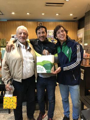 アルゼンチンからのお客様(Mr.Pepe&Mr.Mat&Mr.Tomiさん)