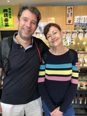 フランスからのお客様(Mr.Eric&Ms.Valerieさん)