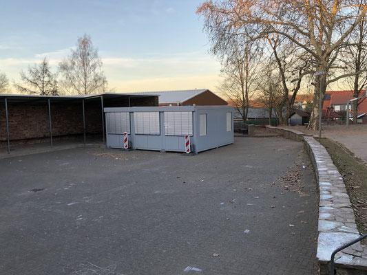 Container für die Freiwillige Ganztagsschule