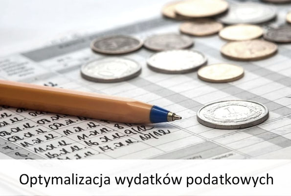 optymalizacja wydatków podatkowych