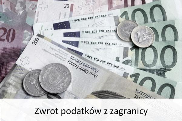 zwrot podatków z zagranicy