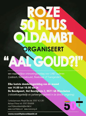Flyer Roze 50plus Oldambt