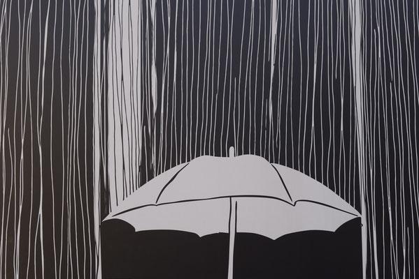 Hämmerle Wolfgang - Schirm im Regen
