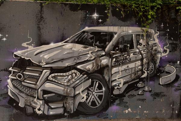 Wolfgang Hämmerle - Graffiti 1