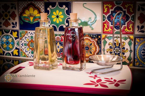 Bunte Dekorfliesen 11x11 cm für die Küche