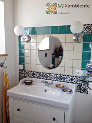 galerie mexambiente waschbecken fliesen aus mexiko. Black Bedroom Furniture Sets. Home Design Ideas