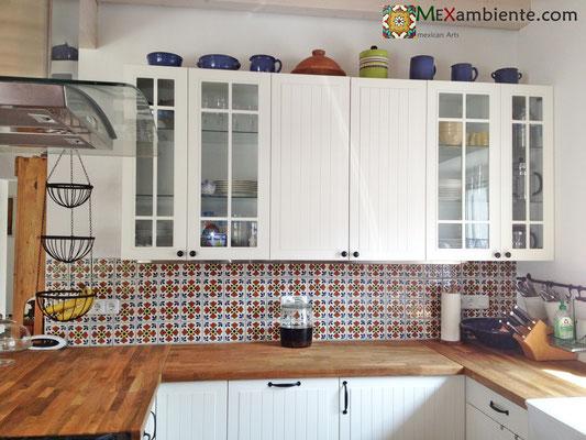 Mexambiente Dekorfliesen - Für den exklusiven Landahaus-Look in der Küche