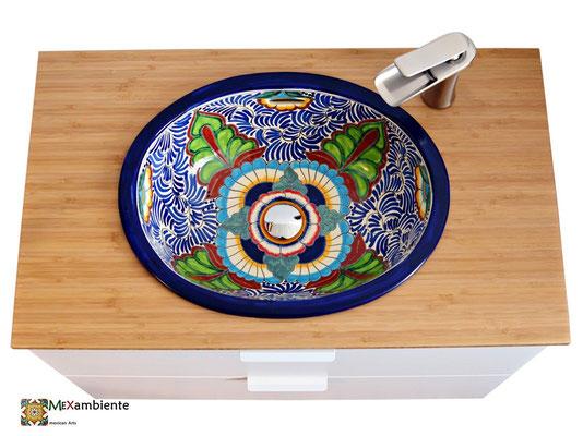 Einbauwaschbecken MEXICO + Ikea Waschtisch Godmorgon