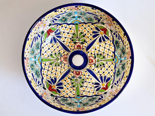 Design Aufsatzwaschbecken aus Mexiko - MEX3 Belleza