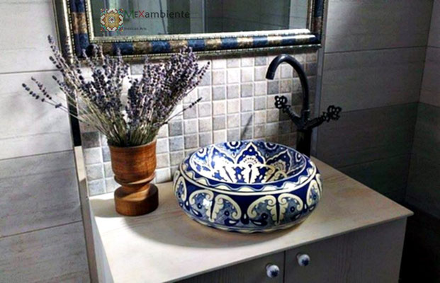 Donna - Formschönes Designer Waschbecken von Mexambiente