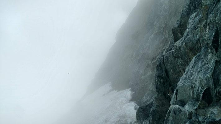 Steile Schneefelder ...