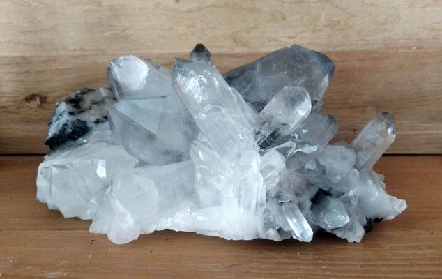Bergkristallgruppe 30 cm
