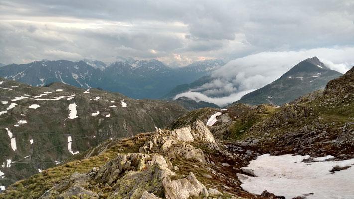 Blick zum Gotthardpass