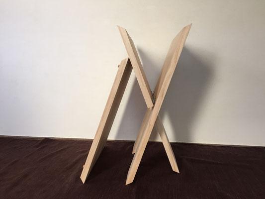 天板と脚の構成