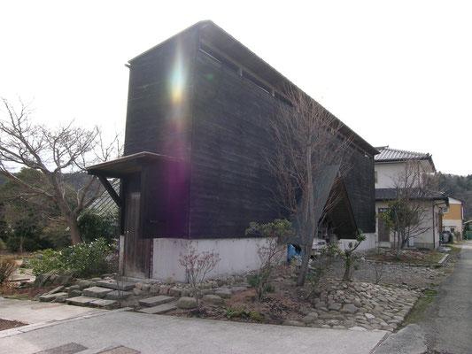 炭焼き小屋(事務所)