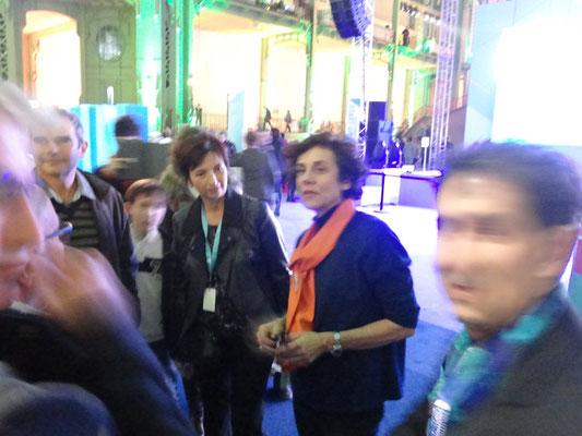 Avec Sylvianne Villaudière - Cabinet Alliantis
