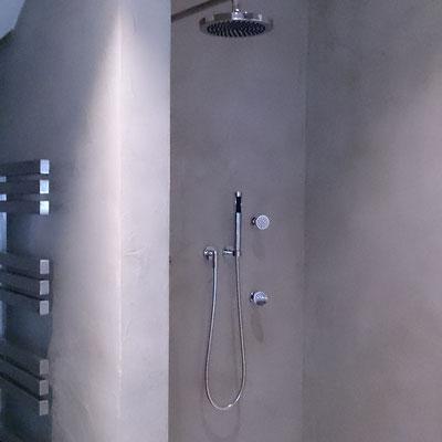 Beton ciré in dusche #Interior #Wohnen #Style