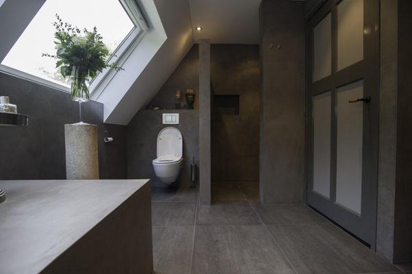 Beton Ciré in Toiletten