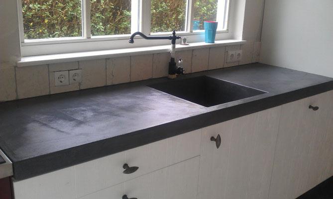 Beton Cir;e in Küche #Interior #Wohnen #Style