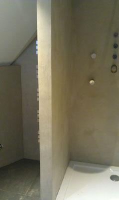 Beton Ciré im Badezimmer