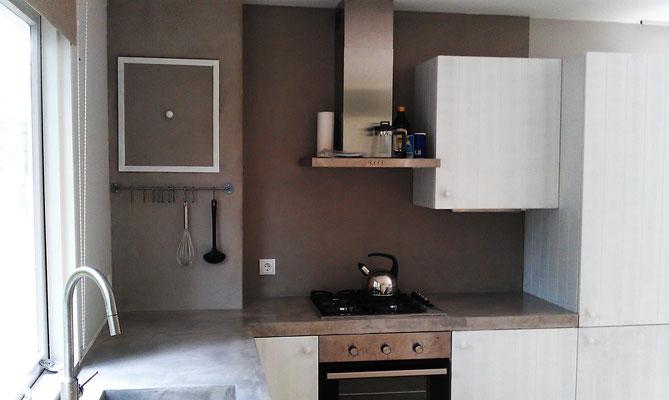 Beton ciré Küche #Interior #Wohnen #Style