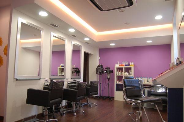Resultado de imagen reformas de peluquerias