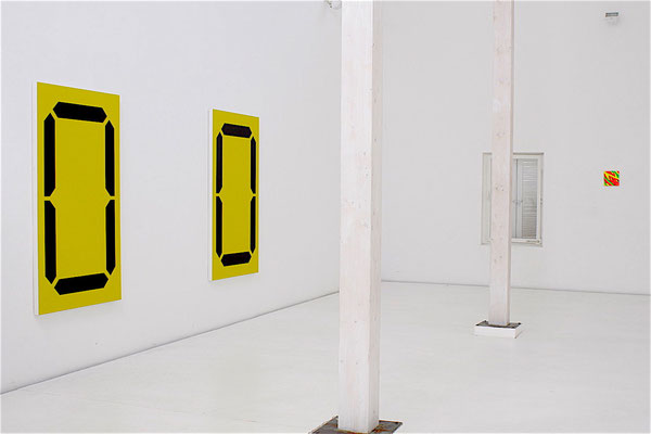 Daniel Schörnig, DISPLAY, 2008, acrylic on canvas, 167 x 100 cm