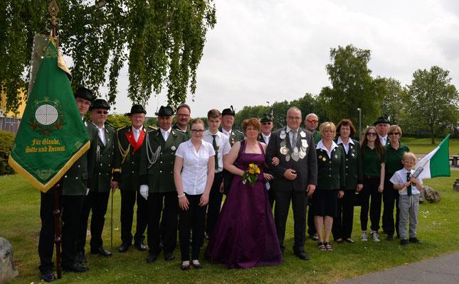 Schützenfest 24.05.2015 in Vettweiß