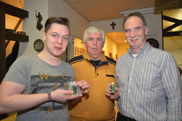 v. l. Christoph Fuß, Arnold Vlatten, Hubertus Fuß