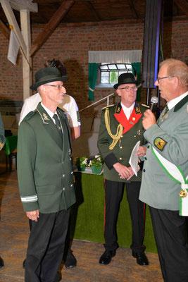 Auszeichnung mit dem Hohen Bruderschaftsorden für Rüdiger Liebertz