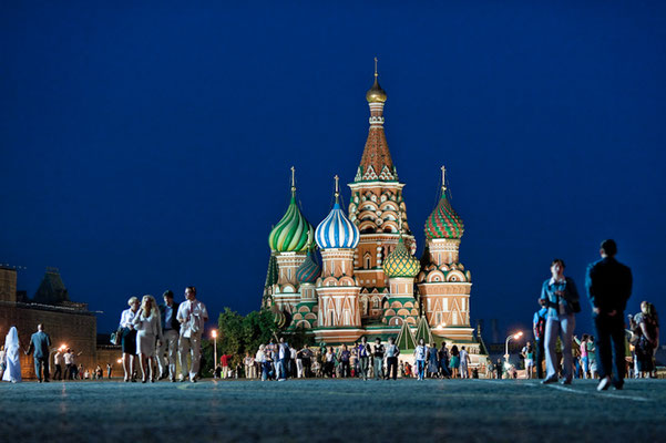 Basilius Kathedrale in Moskau - © Dirk Brzoska