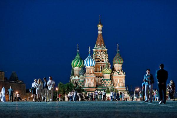 Basilius Kathedrale in Moskau - © Dirk Brzoska - Fotograf aus Leipzig
